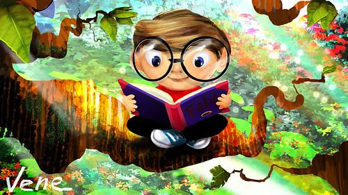 Children's reading book