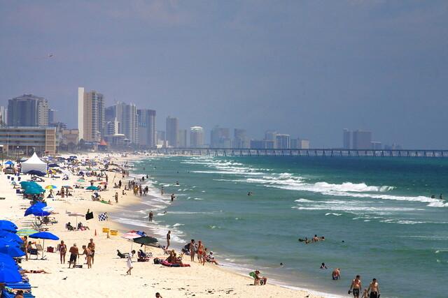 morando em Panama City Beach