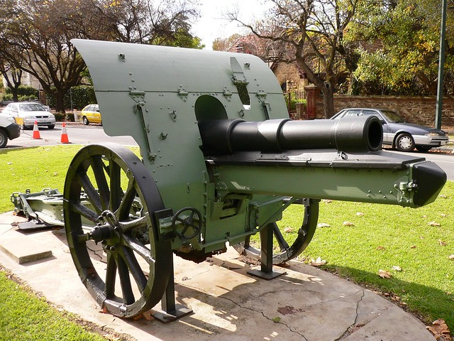 German WW1 Guns http://www.flickr.com/photos/rodeime/7351102986/