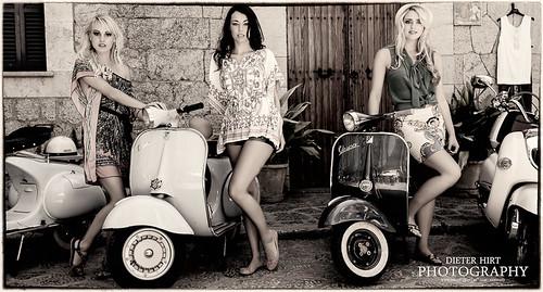 Angi, Maria, Selina by ppit