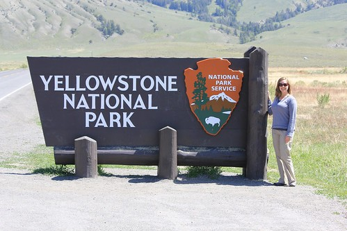 Arrived at Yellowstone National Park