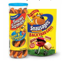 Snausages Brand Dog Snacks Coupon