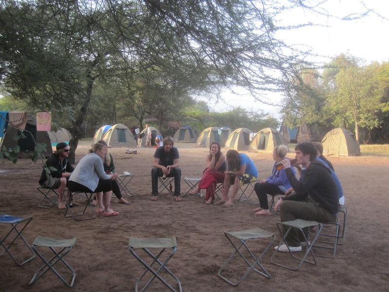 Campground Tanzania Africa