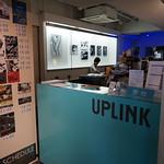 UPLINK 1F受付カウンター