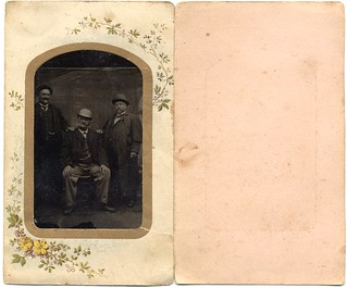 Tintype - Three Elderly Gentlemen