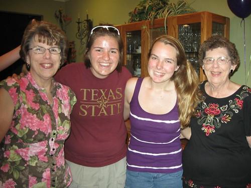 Kathryn graduation party 3