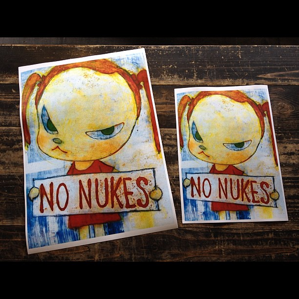 *NO NUKES:奈良美智的反核方式 1