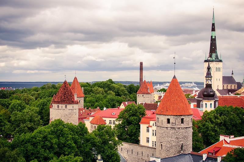 Cloudy Tallinn