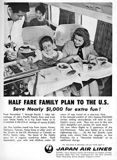 1960 Japan Air Lines ad