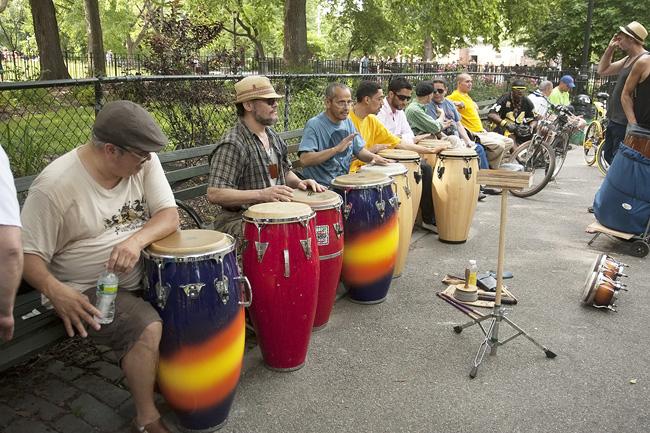 Drum Circle, nyc