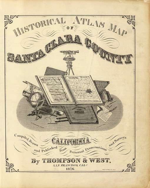 decorative letters in map books