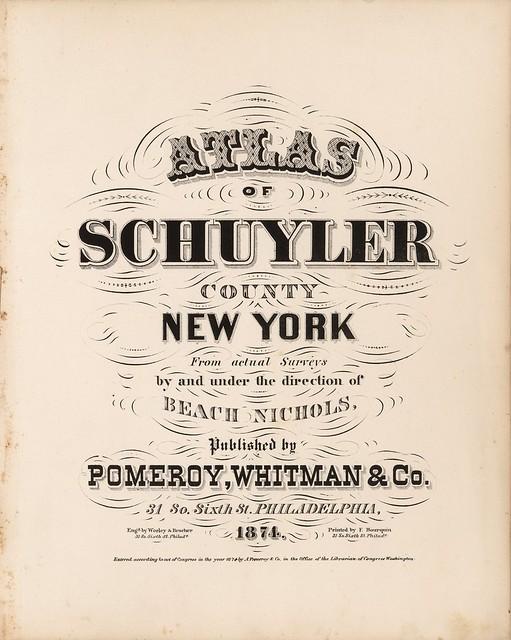 elegant title page fonts