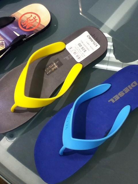 Diesel Slippers $35