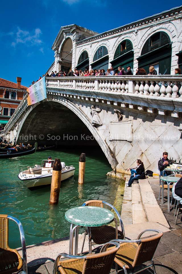 Rialto Bridge @ Venice, Italy