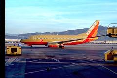 "Boeing 737-500, Southwest ""Corndog"" colors N511SW 98-3-14"