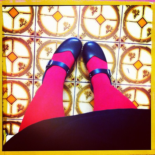 It's a red tights kinda day!