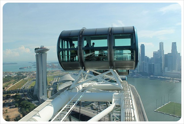 singapore flyer views & gondola