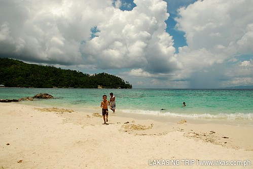 Tiamban Beach in Romblon Island, Romblon