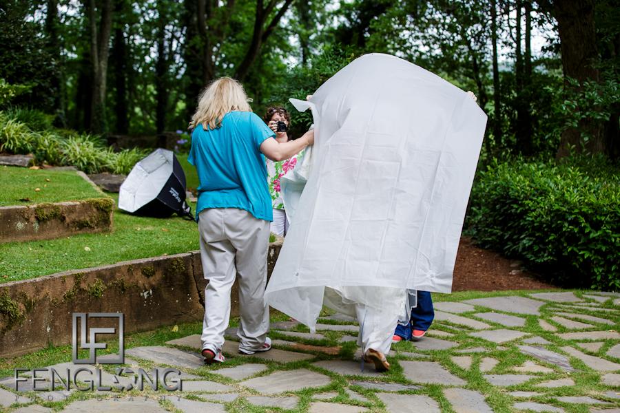 Behind the Scenes | Bridal Session | Dunaway Gardens | Atlanta Wedding Photographer