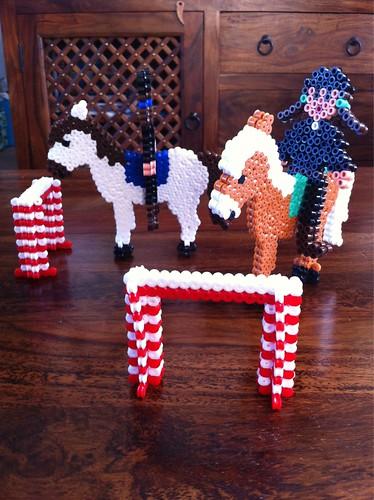 Hama Bead Equestrians