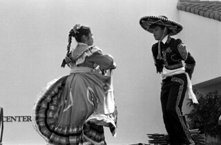 Mexican hat dance at the Historical Museum of Southern Florida during the Traditions Festival: Miami, Florida