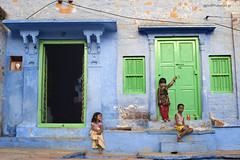 20-Mar-2012: Kids Jodhpur, India.