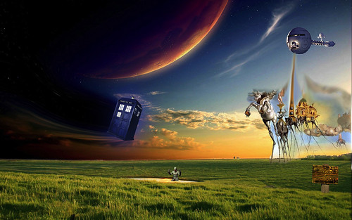 Dr who vs the Dali death ray