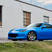 Nissan 370z (Monterey Blue) on Gram Light 57s Pro
