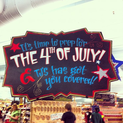 Trader Joe's is feeling patriotic