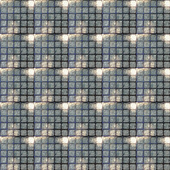 Square Grate Pattern by randubnick