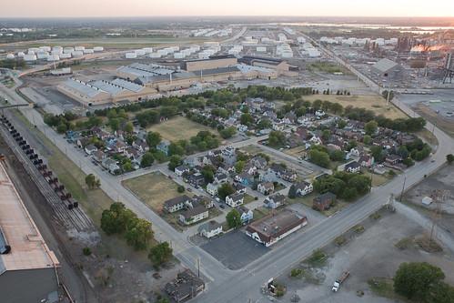 Marktown, Indiana Aerial