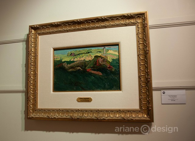 """Day Dreaming"" by Tom Thomson at Pegasus Gallery"