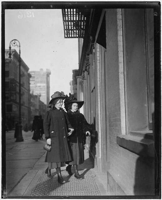 Wanamaker's 8:30 A.M. New York City, February 1910