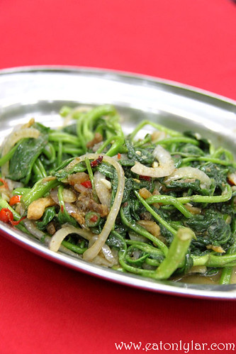 Stir Fried Sweet Potato Leaves, Restoran Kee V Sdn Bhd