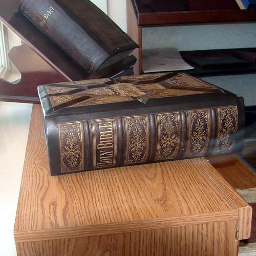 Old Bibles, Book Craftsman 7-2012