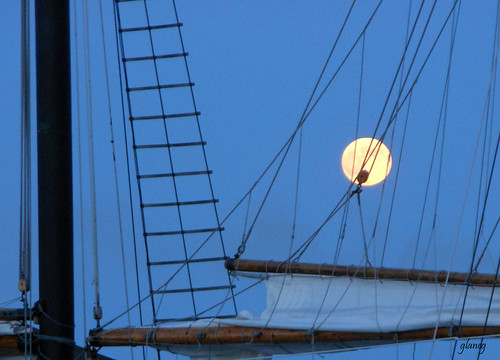 Tall Ship Moon