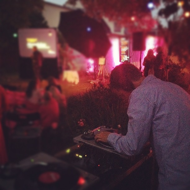 DJ Henrik @lowenhamn på #tedxalmedalen