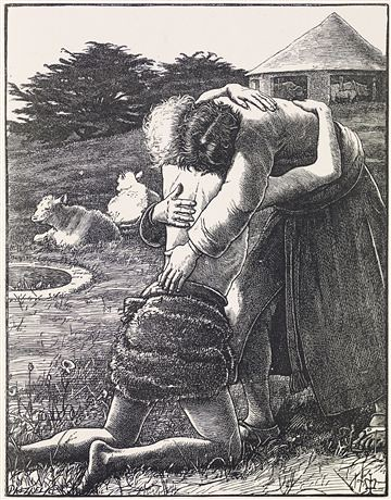 The Parables of Our Lord - The Prodigal Son by John Everett Millais
