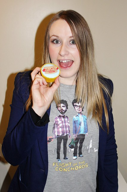 Flight of the Conchords Cupcakes