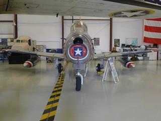 Front: F-86F Sabre