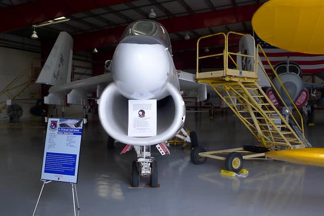 Front: A-7A Corsair