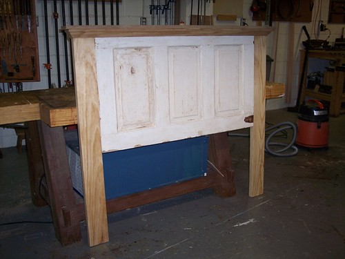 Turning A Door Into A Headboard Mvflaim Furnituremaker