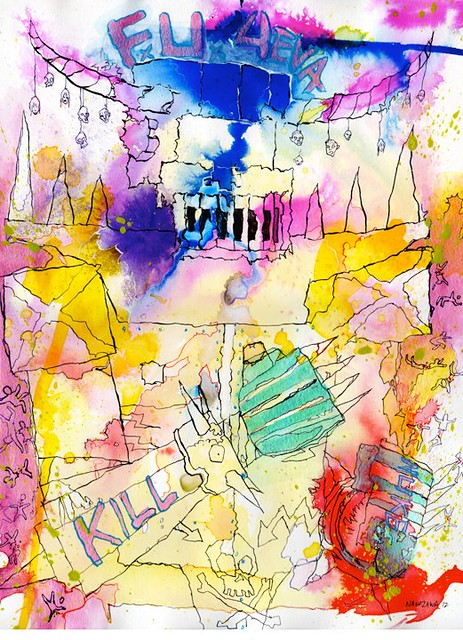 F.U. Robo Lucky Nakazawa x Gargamel