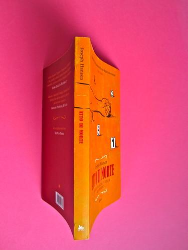 Joseph Hansen, Atto di morte, Elliot 2012. cover design e illustration: IFIX. Quarta di copertina, dorso, copertina (part.), 1