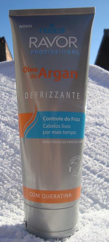 Testei: Defrizante óleo de argan da Ravor
