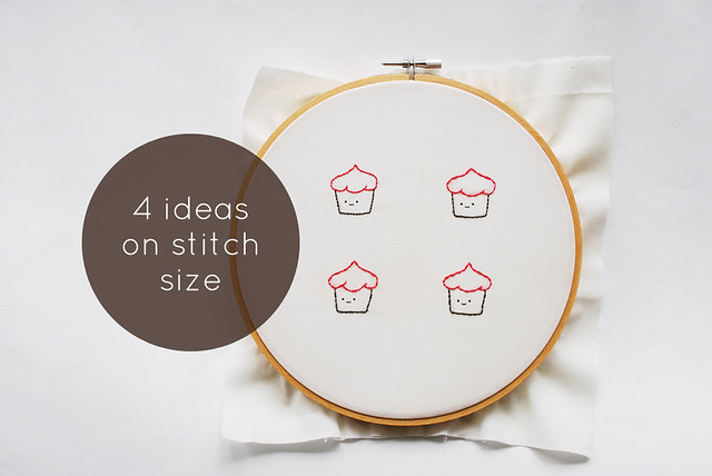 Ideas on Stitch Size