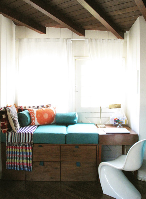 A Reading Nook The Style Files