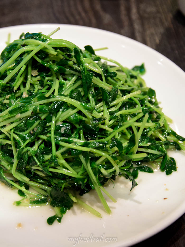 Din Tai Fung, Singapore - Snow Pea Shoots