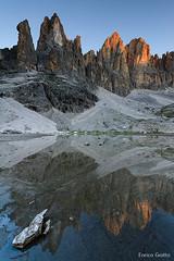 La prima luce   Pale di San Martino   Dolomiti - The first light   Dolomites