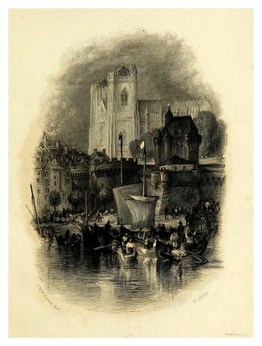 006-Nantes-Wanderings by the Loire- 1833- J. M. W. Turner